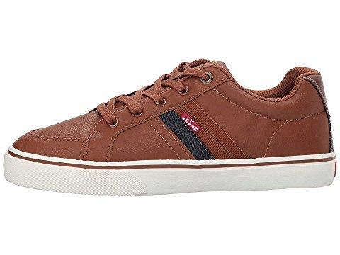 Levi's Mens Turner Nappa Casual Fashion Sneaker Shoe, Tan, 9.5 M