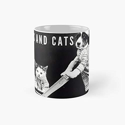 Taza clásica de Rescue Cats | El mejor regalo divertidas tazas de café de 325 ml