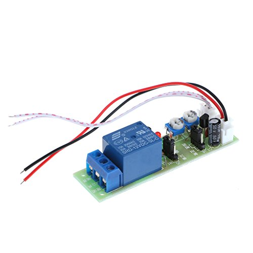 timer relay 12V, DC Infinite Cycle Delay Timing Timer Relay ON OFF Switch Loop Module Trigger