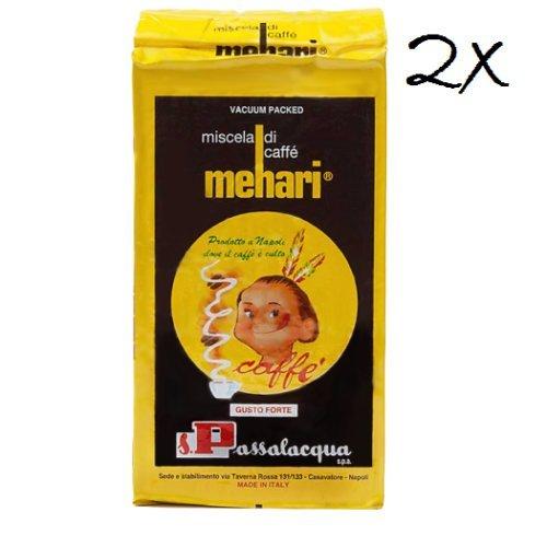2x caffè passalacqua Mehari Kaffee 250g gemahlen Italienisch caffè espresso