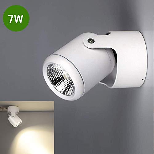 DLLT Spotleuchte LED Spot Moderne 3000K Warmweiß 7W 560 Lumen Deckenspot Klein für Küche, Badezimmer, Flur, Schlafzimmer, Küche, Esszimmer