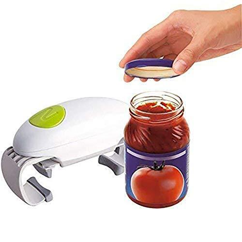GENRIC Apriscatole Elettrico Automatico Multifunzione Utensili da Cucina Apri,Apriscatole Elettrico,Apriscatole per Cucina del Ristorante,per Persone Anziane Individui Affetti da Artrite