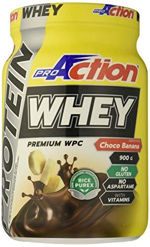 ProAction Protein Whey - barattolo da 900 g (Choco Banana)