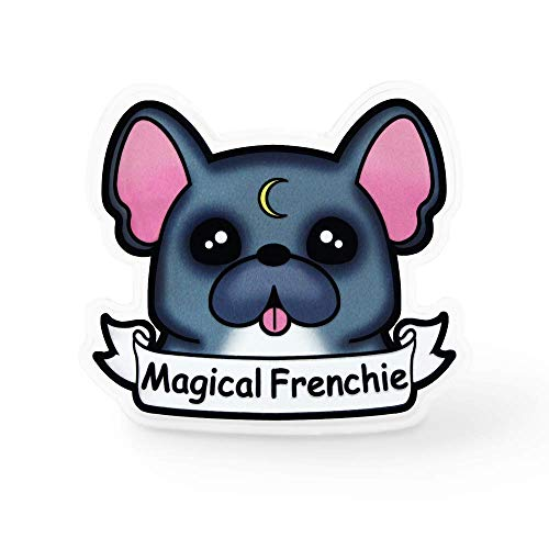 Magical Frenchie Dog Lapel Pin