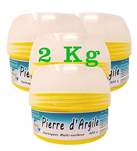 BioVeg5 | Piedra de arcilla 2 kg | Piedra blanca natural de...