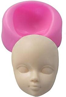 PiniceCore Baby Face polimero 3D in Resina Stampi Caposcuola Viso della Torta del Fondente Che Decora l'attrezzo del Silic...