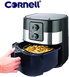 Cornell CAFS30SS 4L Air Fryer with Detachable Basket Black