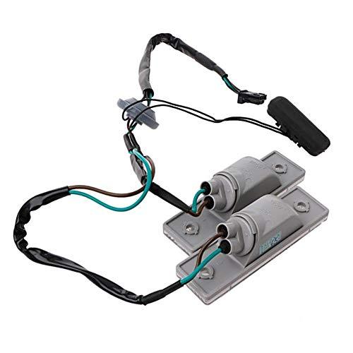 nakw88 Luz de matrícula con interruptor de maletero para Chevrolet Cruze 2009-2014
