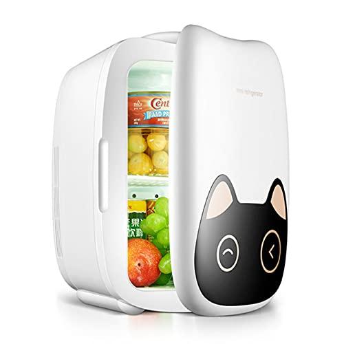 Lindo Mini Refrigerador Para Automóvil De 6 L Con Enfriador Y Calentador, Enfriamiento Rápido Y Calefacción De La Oficina En El Hogar, Para El Cuidado De La Piel, Dormitorio, Caravana