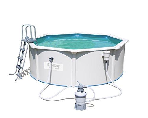 Bestway Hydrium Pool Set Pool, 10990Liter, weiß, 360x 360x 120cm