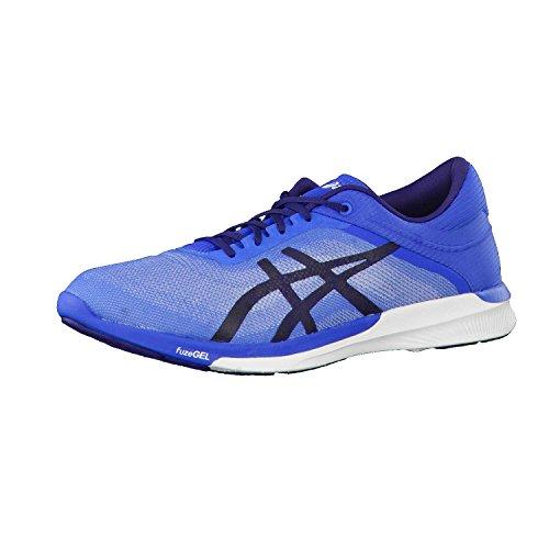 Asics Fuzex Rush, Zapatos para Correr para Hombre, Shoe Size- 7.5 UK, Color- Blue/White