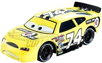 Disney / Pixar CARS Movie 1:55 Die Cast Car Motor Speedway of the South #74 Sidewall Shine
