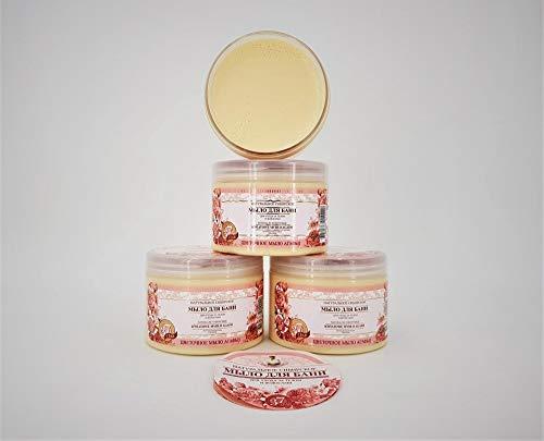 Grandma Agafia Natural Herbal Soap Sibirische natürliche Seife mit Blüten Extrakten, 3 Set, 1,5L, Großmutter Agafia natural soap