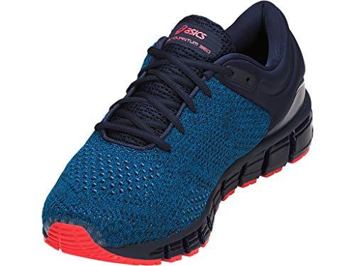 ASICS Men's Gel-Quantum 360 Knit Running Shoes, 9M, Race Blue/Peacoat 4