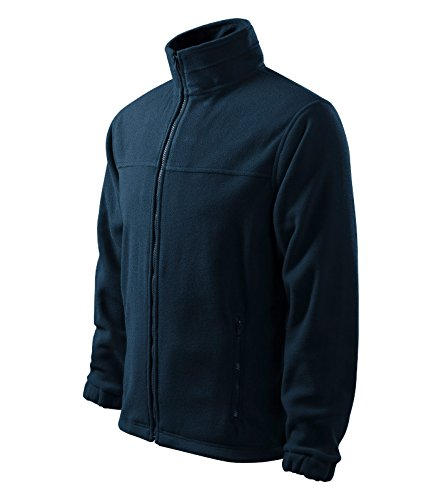 Herren Fleece Jacke Hochwertige Fleecejacke Anti-Pilling (XXXXL, Marineblau)