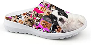 doginthehole Home Style Ladies Womens Slip On Sneaker Clogs Sandals
