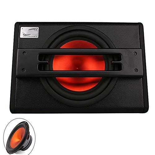 Auto subwoofer Stereo actieve audio apparatuur trapezes 12 inch 1800 W hoge energie leer materiaal luidspreker speler