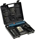Gravur Schleif Werkzeug Akku Bohrmaschine mit 51 Werkzeugen Schleifen Reinigen Gravieren inkl. Transport Koffer -