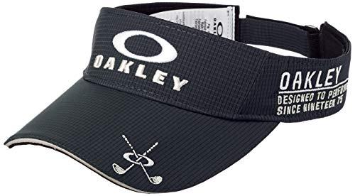 Oakley Men's Standard Golf Visor, Blackout, U