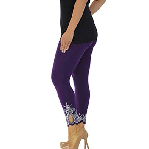 Juleya Leggings Donna Sport Pantaloni Donne Pantaloni Yoga a Vita Alta Pantaloni Sportivi Push up Abbigliamento Sportivo Leggins Elastici per Ginnastica Fitness Allenamento