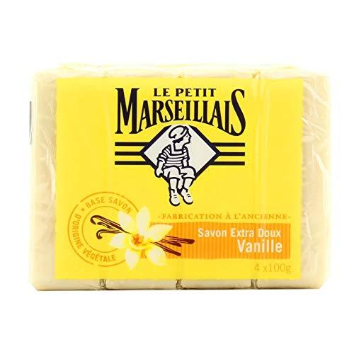 Le Petit Marseillais Seife, 4 x 100 g, Vanille