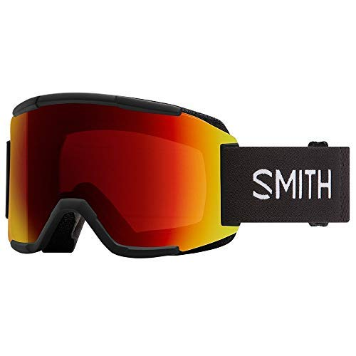 Smith Squad Snow Goggles Black/ChromaPop Sun Red Mirror