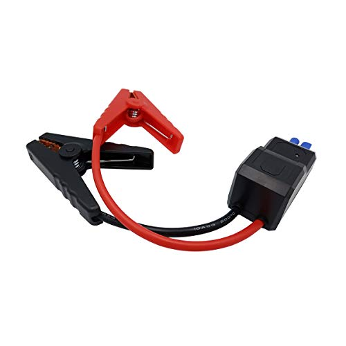 Replacement portable battery jump starter smart cable for jump starter portable charger power bank smart cable battery clips
