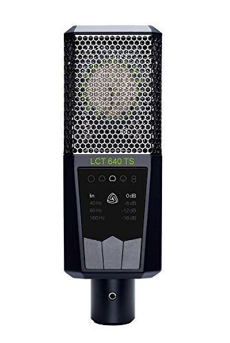 Lewitt Multi-Pattern Large Diaphragm Condenser Microphone with Shock Mount (LCT-640-TS)