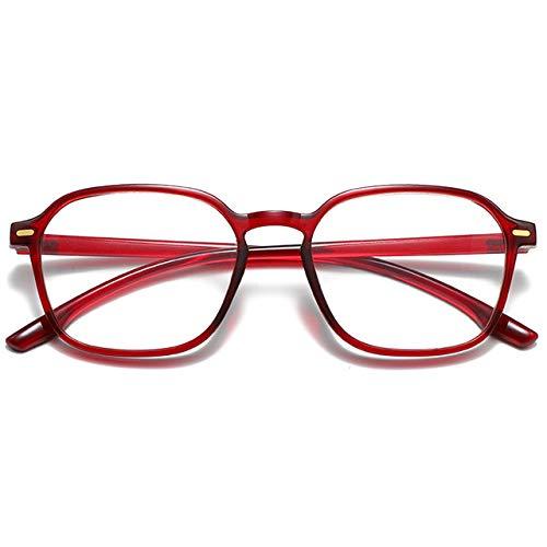 Gafas Mujer Anti Blue Light Cat Eye Gafas Montura Gafas Rojas