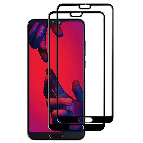 Layack Pellicola Protettiva per Huawei P20 PRO, 2 Pezzi Protezioni per Lo Schermo Vetro Temperato Alta Trasparente Anti-Impronte 9H Durezza Nessuna Bolla