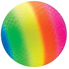 Includes: 1 ball **Please note The single balls Do not include a pump and needle and all balls will be delivered deflated. Colors Include: Rainbow Child Safe Material: This item has been tested and is child Safe Great for outdoor activities! Kick bal...