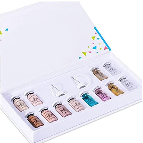 CUCUFA Textura Crema BB Crema, Maquillaje de Belleza Fundación líquido Que se Utiliza para iluminar la Piel Color Invisible poros melanina con Esencia de Cara para la Piel style3