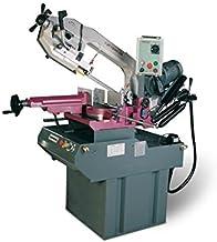 OPTIMUM OPTI S 310 DG Vario-Set - sierra de cinta para metal con doble inglete, plato giratorio y regulable sierra de cinta de velocidad económico y preciso trabajar