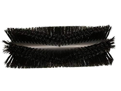 partmax® Bürstenwalze für Gutbrod B 700 / B 750 / B 800 / B 801, Poly 0,9 mm glatt schwarz, Walze, Walzenbürste, Kehrwalze