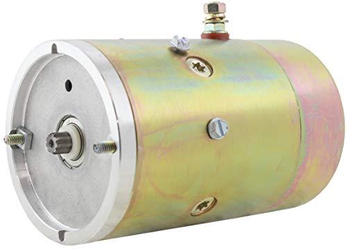 New Hydraulic Pump Motor for Fenner, Dell, Maxon, Waltco Liftgates & SNO-Way Plow Motors 12 Volt HD Double Ball Bearing W8989 02-1021 25010230 25163 4Z629 7997 8987 CM6586 GB4042HD 1787 1787AC 1789AC