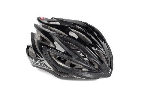 Spiuk Dharma - Casco de ciclismo, color negro, talla 51 - 56