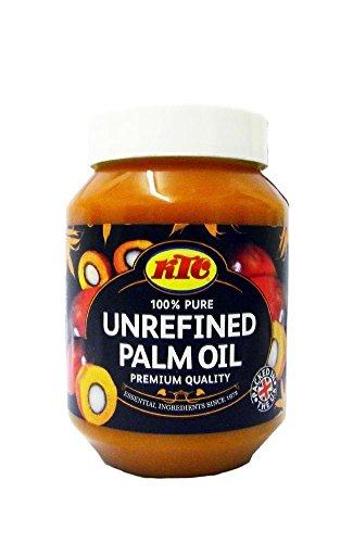 [ 500ml ] KTC Palmöl 100% unraffiniertes Palm Öl / Palm Oil