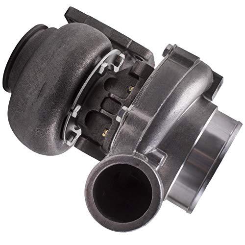 Turbocompresor T70 Universal TurboCharger .70 A/R T3 V BRIDE BRIDE 600 + HP Oil Oil Cooled Turbo Turbine for el motor 1.8L-3.0L