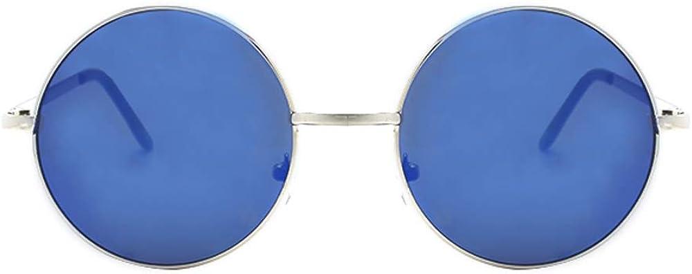 John Lennon Sunglasses Hippie Retro Round Frame Sunglasses P2012