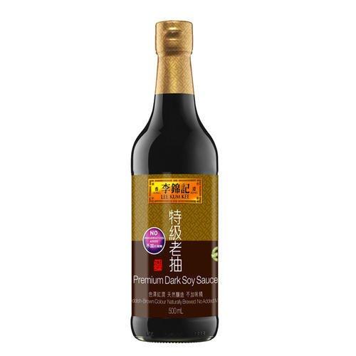 Lee Kum Kee Salsa de soja, oscuro, Premium, 2unidades (2x 500ml)