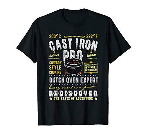 Dutch Oven Cast Iron Pro Grillen BBQ Design T-Shirt