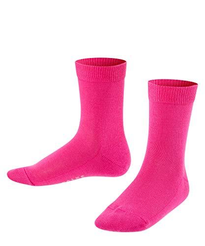 FALKE Kinder Socken Family - 94prozent Baumwolle, 1 Paar, Rosa (Gloss 8550), Größe: 31-34