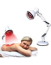 La terapia de luz roja, infrarrojo cercano, juego de lámparas de calor para masaje, cuidado de la piel, el alivio del dolor muscular, mejorar la circulación sanguínea del sueño