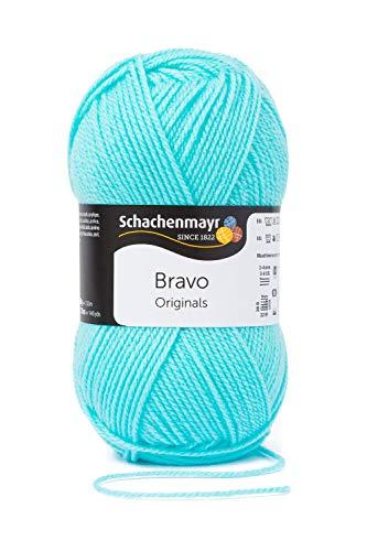 Schachenmayr Handstrickgarne Bravo, 50g Mintblau