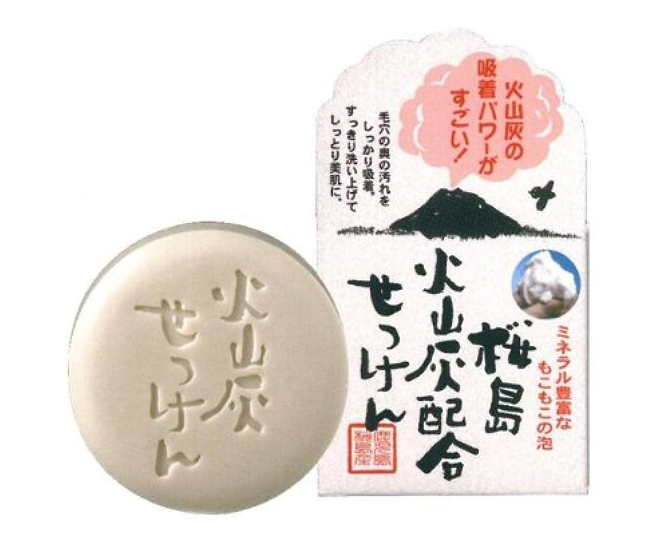 遊びます検出可能始まりユゼ 桜島火山灰配合せっけん