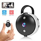 Spy Camera Wireless Hidden Security Camera Mini Portable Wi-Fi Cam HD...