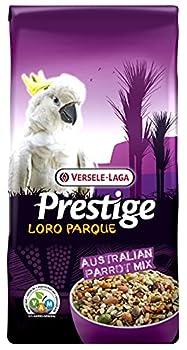 VERSELE-LAGA - Prestige Loro Parque Australian Parrot Mix - Mélange de Graines Enrichi, Complet et Varié pour Perroquets Australiens - 15kg