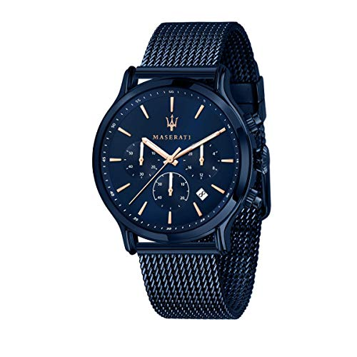 Orologio da uomo, Collezione Blue Edition, in Acciaio, PVD Blu - R8873618010