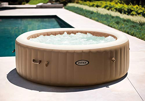 Intex PureSpa Bubble Round 6 Person with updated control base