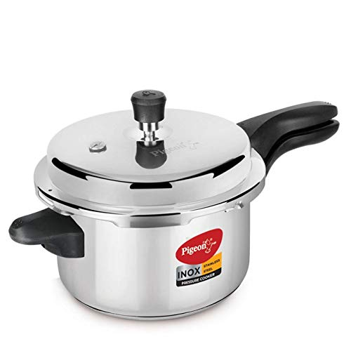 Pigeon by Stovekraft Inox Stainless Steel pressure cooker 5 L